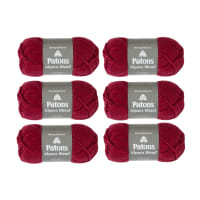 Patons Alpaca Blend Petunia Pack of 6