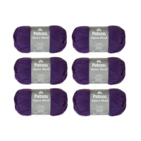 Patons Alpaca Blend Ultraviolet Pack of 6