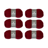 Patons Classic Wool Bulky Burgundy Pack of 6