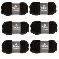 Patons Cobbles Pack of 6 Chargray