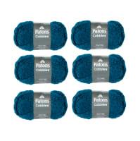Patons Cobbles Tetra Teal Pack of 6
