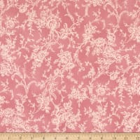 Quilt Gate Ruru Bouquet Classic Library 2 Floral Tonal Shirting Pink