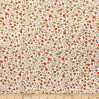 Poppie Cotton Daisy Mae Berry Blossoms Pink