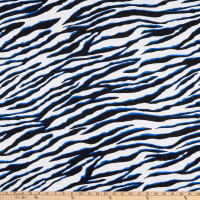 Fabtrends DTY Animal Zebra Skin Royal