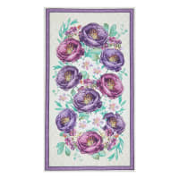 "Wilmington Violette Large 24"" Panel Multi"