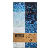 "Timeless Treasures Tonga Batik Treat 2.5"" Strip Pack 20 Pcs Blue Moon"