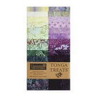 "Timeless Treasures Tonga Batik Treat 20 Pc. 2.5"" Strip Pack Tulip"