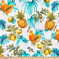 STOF France Citrus Twill Turquoise