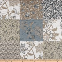 """STOF France 106"""" Doubled Sided Quilt Darjeeeling Taupe"""