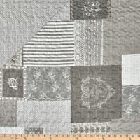 """STOF France 106"""" Doubled Sided Quilt Arkansas Gris"""