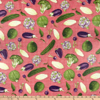 STOF France Concombre Rouge Tablecloth