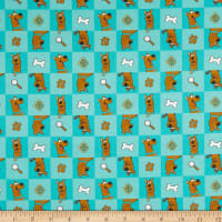 Scooby-Doo II Scooby-Doo Checked Icons Teal