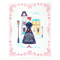 "Mary Poppins II Practically Perfect 35"" Panel Multi"