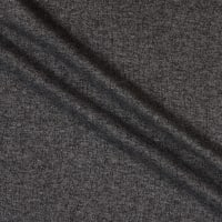 French Terry Knit Brushed Charcoal Two Tone