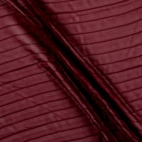 Pleated Chiffon Burgundy