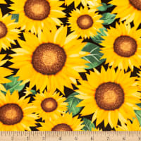 Shannon Studio Digital Minky Cuddle Sunflower Marigold
