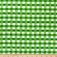 Kaufman Digital Chow Time Plaid Pickle