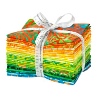 Kaufman Artisan Batiks Fat Quarter Bundle Summer Zest
