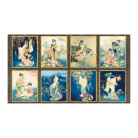 "Kaufman Imperial Collection 16 Geisha 24"" Panel Spring"
