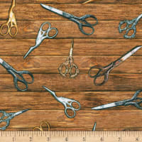 Kaufman Sewing Emporium Scissors Vintage