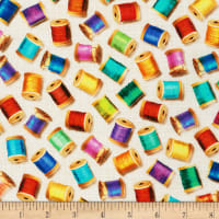 Kaufman Sewing Emporium Thread Rainbow