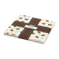 Kaufman Ten Squares Bees Knees 42pcs Knees