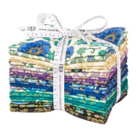 Kaufman Fat Quarter Bundles Florentine Garden Jewel 20 Pcs