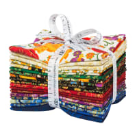 Kaufman Fat Quarter Bundles Florentine Garden Multi 18 Pcs