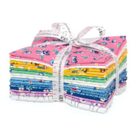 Kaufman Fat Quarter Bundles Naptime Multi 18 Pcs