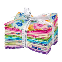Kaufman Naturual Blooms Fat Quarter Bundles 16pcs Bright
