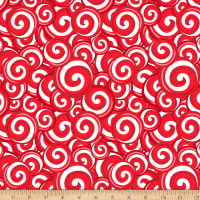 Christmas Peppermint Swirl Christmas Red
