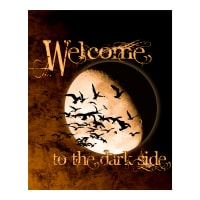 "Halloween Welcome To The Dark Side 36"" Panel Multi"