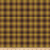 Harvest Basics Fall Plaid Brown