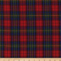 Christmas Mytar Woven Metallic Plaid Red/Royal/Green/Gold