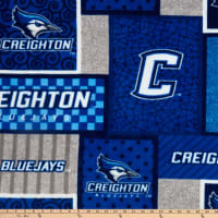 NCAA Creighton Bluejays College Patch Fleece Multi