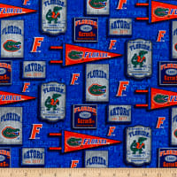NCAA Florida Gators Vintage Pennant Cotton Multi