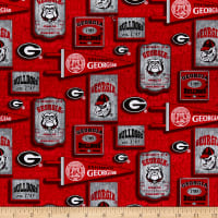 NCAA Georgia Bulldogs Vintage Pennant Cotton Multi
