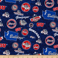 NCAA Gonzaga Bulldogs Home State Cotton Multi