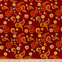 NCAA Iowa State Cyclones Cotton Paisley Multi