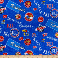 NCAA Kansas Jayhawks Home State Cotton Multi