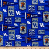 NCAA Kentucky Wildcats Vintage Pennant Cotton Multi