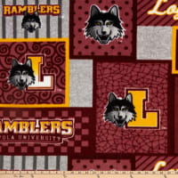NCAA Loyola Chicago Ramblers College Patch Fleece Multi