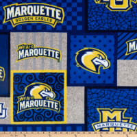 NCAA Marquette Golden Eagles College Patch Fleece Multi