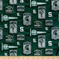 NCAA Michigan State Spartans Vintage Pennant Cotton Multi
