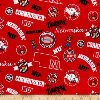 NCAA Nebraska Huskers Home State Cotton Multi