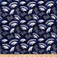NCAA Nevada Reno Wolf Pack Tone On Tone Cotton Multi
