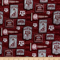 NCAA Texas A&M Aggies Vintage Pennant Cotton Multi