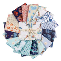 Clothworks By The Seashore Fat Quarter Pack 16pcs Multi