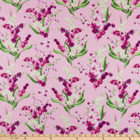 Clothworks Orchid Fancy Toss Orchid