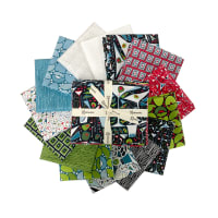 Clothworks Picholine Fat Quarter Pack 11pcs Multi